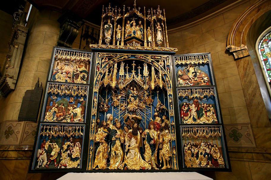 Replika Ołtarza Wita Stwosza