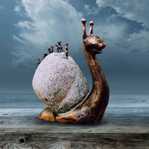 Rzeźba kameralna - Podróże Male i Duże